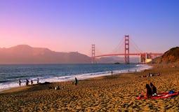 Praia do padeiro, San Francisco imagens de stock royalty free