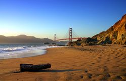 Padeiro Beach, San Francisco foto de stock royalty free