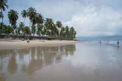 Praia do Paiva, Pernambuco - Brazil. Paiva Beach its a beach in the Cabo de Santo Agostinho municipality in Pernambuco's state. Its landscape is made up of a Stock Photo