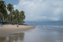 Praia do Paiva, Pernambuco - Brazil. Paiva Beach its a beach in the Cabo de Santo Agostinho municipality in Pernambuco's state. Its landscape is made up of a Stock Photos