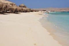 Praia do paraíso Foto de Stock Royalty Free