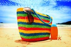 Praia do paraíso Imagens de Stock
