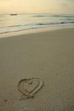 Praia do paraíso Imagem de Stock Royalty Free