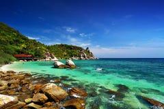 Praia do paraíso da liberdade Fotografia de Stock Royalty Free