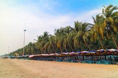 praia do paraíso em Tailândia imagens de stock