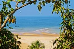 Praia do paraíso no Maharashtra Imagens de Stock