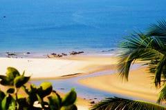 Praia do paraíso no Maharashtra Fotografia de Stock Royalty Free