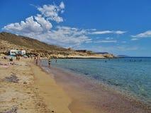 Praia do Playazo de Rodalquilar Nijar Almeria Andalusia Spain fotos de stock royalty free