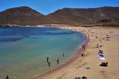 Praia do Playazo de Rodalquilar Nijar Almeria Andalusia Spain imagens de stock royalty free