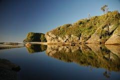 Praia do ponto dos cavaleiros Foto de Stock Royalty Free