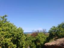 Praia do porto imagens de stock royalty free