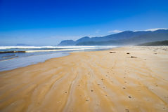 Praia do prião Imagem de Stock