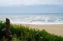 Praia do rancho de Cowell Imagem de Stock