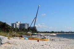 Praia do recurso de Key Biscayne Imagem de Stock Royalty Free
