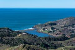 Praia do rodeio em Marin County, Califórnia Imagem de Stock