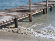Praia do ` s de Muro na ilha de Majorca Foto de Stock