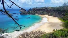 Praia do Sancho Royalty Free Stock Photos