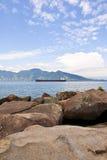 Praia do Sino - Ilhabela - Brazilië Stock Foto