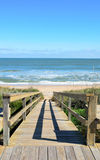 Praia do St. Augustine Foto de Stock