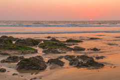 Praia do Tamarindo foto de stock royalty free
