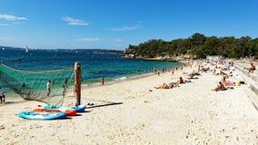 Praia do tubarão, Nielsen Park, Vaucluse, Sydney, Austrália imagem de stock royalty free