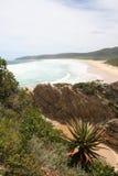 Praia do vale da natureza imagens de stock