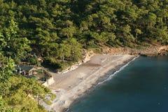Praia do vale de Kabak fotografia de stock