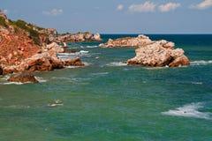 Praia do verão imagens de stock royalty free