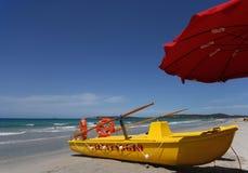 Praia do verão Fotos de Stock Royalty Free