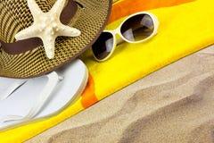 Praia do verão Imagens de Stock
