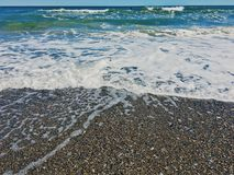 Praia do verão Fotografia de Stock
