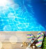 Praia do verão da AR Fotografia de Stock Royalty Free
