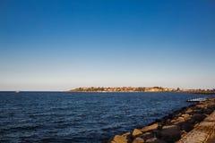 Praia do verão do mar Imagem de Stock