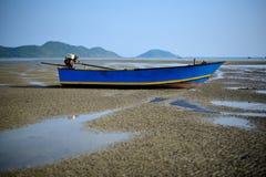 Praia do verão na praia do chanthaburi, em Tailândia Imagem de Stock
