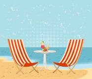Praia do verão Fotografia de Stock Royalty Free