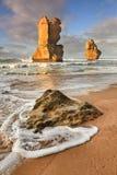 Praia do vertical dos apóstolos de GOR 2 Imagens de Stock Royalty Free