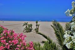 Praia do Vetanicas de Mojacar Almeria Andalusia Spain fotografia de stock royalty free