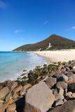 Praia do zênite - Nelson Bay NSW Austrália Foto de Stock Royalty Free
