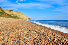 Praia Dorset de Eype imagem de stock