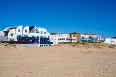 Praia Dorset dos bancos de areia Imagem de Stock