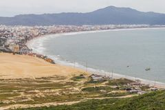 Praia dos Ingleses beach. Florianopolis, Santa Catarina, Brazil royalty free stock photos