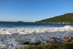 Praia dos Ingleses, Florianà ³ polisa - Santa Catarina, Brasil, - Obraz Royalty Free