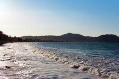Praia dos Ingleses, Florianà ³ polisa - Santa Catarina, Brasil, - Fotografia Stock