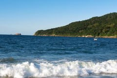 Praia dos Ingleses - Florianópolis, Santa Catarina - Brasil Stock Photos