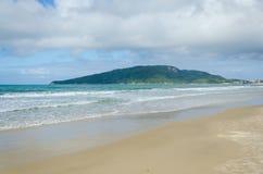 Praia-DOS Ingleses, Florianopolis Lizenzfreies Stockbild