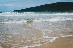 Praia dos Ingleses, Florianopolis Fotografia Stock