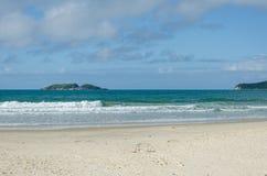 Praia dos Ingleses, Florianopolis Obraz Royalty Free