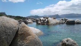 Praia dos pedregulhos Foto de Stock Royalty Free