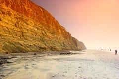 Praia dos pinhos de Torrey fotos de stock royalty free