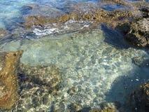 praia dos rhodos Imagem de Stock
